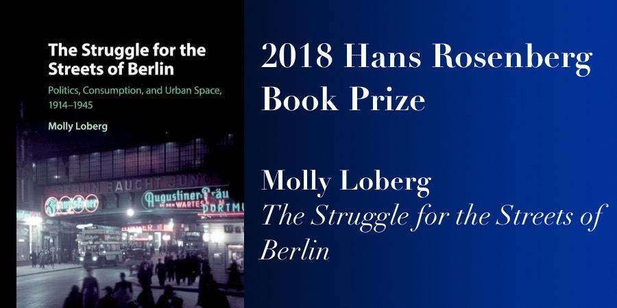 2018 Rosenberg Book Prize